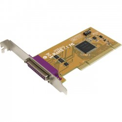 StarTech - PCI1PM - StarTech.com 1 Port PCI Parallel Adapter Card with Re-mappable Address - 1 x 25-pin DB-25 Female IEEE 1284 Parallel PCI