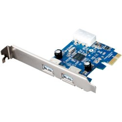 D-Link - DUB-1310 - D-Link 2-port PCI Express USB Adapter - PCI Express x1 - Plug-in Card - 2 USB Port(s) - 2 USB 3.0 Port(s)
