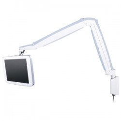Innovative Office Products - 9400-WM-105 - Innovative 9400-WM Mounting Arm for Flat Panel Display - 18 lb Load Capacity - Pearl White