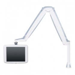 Innovative Office Products - 9400-CM-105 - Innovative 9400-CM Mounting Arm for Flat Panel Display - 18 lb Load Capacity - Pearl White