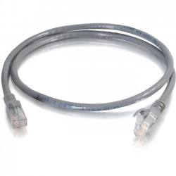 C2G (Cables To Go) - 10310 - C2G 75 ft Cat6 Snagless Unshielded (UTP) Network Patch Cable (TAA) - Gray - Category 6 for Network Device - RJ-45 Male - RJ-45 Male -TAA Compliant - 75ft - Gray