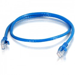 C2G (Cables To Go) / Legrand - 10318 - C2G 20 ft Cat6 Snagless Unshielded (UTP) Network Patch Cable (TAA) - Blue - Category 6 for Network Device - RJ-45 Male - RJ-45 Male -TAA Compliant - 20ft - Blue