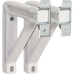 Draper - 227225 - Draper Fixed Wall-Mounting Brackets - White