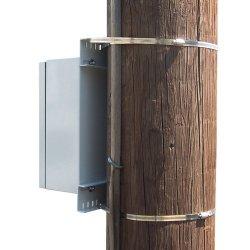 Ventev - TWPMK-10-12-UNIV - Universal Pole Mount Kit - Fits 12 Diameter