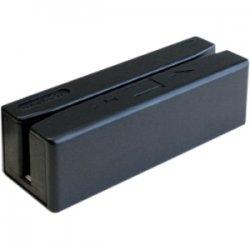 Unitech Electronics - MS246 - Unitech MS246 Magnetic Stripe Reader - Triple Track - 50 in/s - USB - Black
