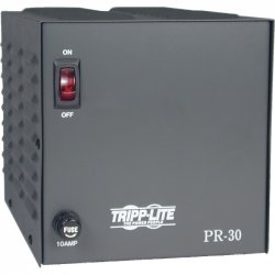Tripp Lite - PR30 - Tripp Lite DC Power Supply 20A 120VAC to 13.8VDC AC to DC Conversion TAA GSA - 120 V AC Input Voltage