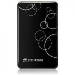 Transcend - TS500GSJ25A3K - Transcend StoreJet 25A3 500 GB 2.5 External Hard Drive - USB 3.0 - SATA