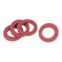 Gilmour - 01RW - Gilmour 01RW Hose Washer - Rubber - Red - 1 Bag