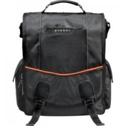 Everki - EKS620 - Everki Urbanite EKS620 Carrying Case (Messenger) for 14.1 Notebook - Black - Nylon, Foam Interior - Checkpoint Friendly - Shoulder Strap, Handle - 15.8 Height x 13 Width x 7.9 Depth