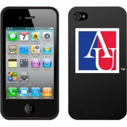 Centon Electronics - IPH4C-AU - Centon Collegiate iPhone Case - iPhone - Black - American University Logo
