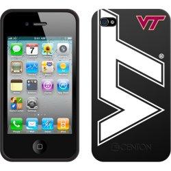 Centon Electronics - IPH4C-VT - Centon Collegiate iPhone Case - iPhone - Black - Virginia Tech Logo