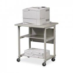 Best-Rite / MooreCo - 22601 - Balt Heavy-Duty Multipurpose Machine Stand - 2 x Shelf(ves) - 27.5 Height x 32.5 Width x 25 Depth - Floor - Powder Coated - Gray
