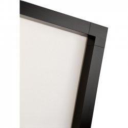 Draper - 253097 - Draper ShadowBox Clarion Manual Wall and Ceiling Projection Screen - 61 x 107 - M1300 - 119 Diagonal