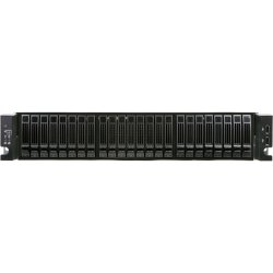 "Chenbro Micom - RM23524M2-R820L - Chenbro RM235 System Cabinet - Rack-mountable - Steel - 2U - 24 x Bay - 3 x Fan(s) Installed - 820 W - SSI EEB Motherboard Supported - 24 x External 2.5"" Bay - 7x Slot(s) - 2 x USB(s)"