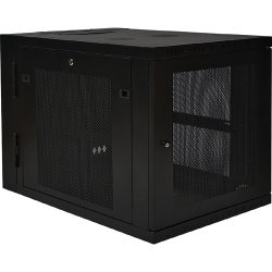 "Tripp Lite - SRW12US33 - Tripp Lite 12U Wall Mount Rack Enclosure Server Cabinet Hinged 33"" Extended Depth - 19"" 12U Wall Mounted"