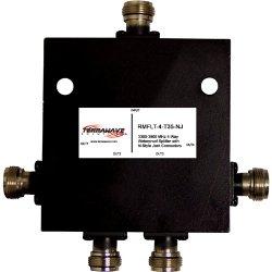 Ventev - RMFLT-4-T35-NJ - TerraWave 4-Way Outdoor Splitter - 4-way - 3.5GHz