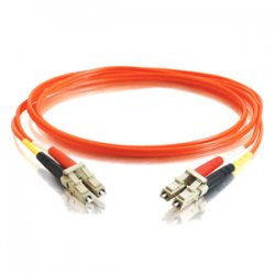 C2G (Cables To Go) - 14502 - C2G 3m LC-LC 50/125 OM2 Duplex Multimode PVC Fiber Optic Cable (USA-Made) - Orange - Fiber Optic for Network Device - LC Male - LC Male - 50/125 - Duplex Multimode - OM2 - USA-Made - 3m - Orange