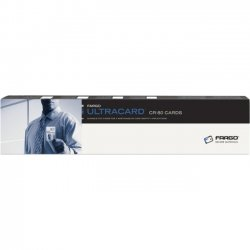 "Fargo / HID Global - 082137 - Fargo Ultra Premium PVC Card - 2.13"" Width x 3.38"" Length - 500"