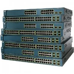 Cisco - WS-C3560-24PS-E-RF - Cisco Catalyst 3560-24PS PoE Switch - 24 x 10/100Base-TX