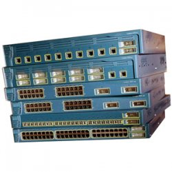 Cisco - WS-C3550-24-EMI-RF - Cisco Catalyst 3550-24 Stackable Ethernet Switch - 24 x 10/100Base-TX