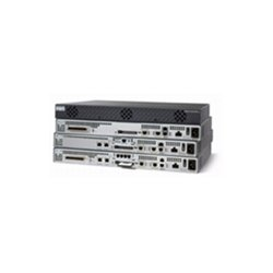Cisco - IAD2431-1T1E1 - Cisco 2431-1T1E1 Integrated Access Device - 2 x 10/100Base-TX LAN, 2 x T1/E1 - 1 CompactFlash (CF) Card , 1 VWIC