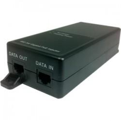 Amer Networks - PIG30 - Amer PIG30 10/100/1000 Power over Ethernet Injector - 110 V AC, 220 V AC Input - 10/100/1000Base-T Input Port(s) - 30 W