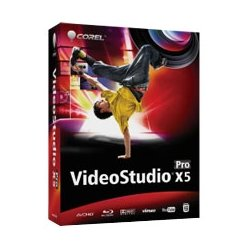 Corel - VSPRX5MLDVAAM - Corel VideoStudio v.X5 Pro - Complete Product - Video Editing - Academic DVD Case Retail - DVD-ROM - PC - French