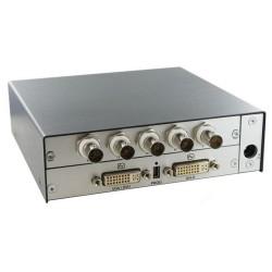 Black Box Network - ACS414A - Black Box VGA/DVI/RGB to DVI-D Converter - Functions: Video Conversion, Video Scaling - 1920 x 1200 - DVI - USB - External
