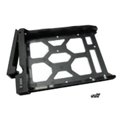 QNAP Systems - SP-X19PII-TRAY - QNAP SP-x19PII-TRAY Mounting Tray for Hard Disk Drive - Plastic - Black