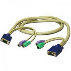 C2G (Cables To Go) - 24742 - C2G 6ft Easy Extender 3-in-1 SXGA Desktop Extension Cable - 6ft - Beige