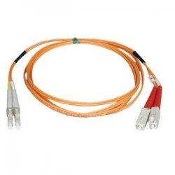 Tripp Lite - N316-13M - Tripp Lite 13M Duplex Multimode 62.5/125 Fiber Optic Patch Cable LC/SC 43' 43ft 13 Meter - SC Male - LC Male - 42.65ft - Orange