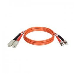Tripp Lite - N304-10M - Tripp Lite 10M Duplex Multimode 62.5/125 Fiber Optic Patch Cable SC/ST 33' 33ft 10 Meter - SC Male - ST Male - 32.81ft - Orange
