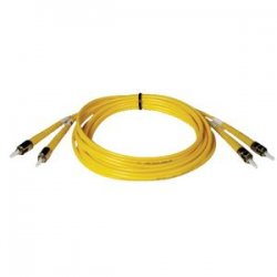 Tripp Lite - N352-03M - Tripp Lite 3M Duplex Singlemode 8.3/125 Fiber Optic Patch Cable ST/ST 10' 10ft 3 Meter - ST Male - ST Male - 9.84ft - Yellow
