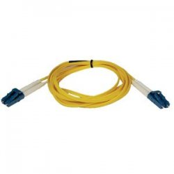 Tripp Lite - N370-01M - Tripp Lite 1M Duplex Singlemode 8.3/125 Fiber Optic Patch Cable LC/LC 3' 3ft 1 Meter - LC Male - LC Male - 3.28ft - Yellow