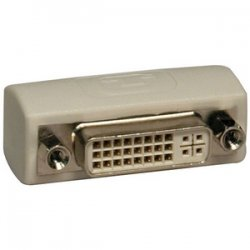 Tripp Lite - P162-000 - Tripp Lite DVI Coupler Gender Changer Adapter Connector Extender DVI-I F/F - 1 x DVI-I Female Video - 1 x DVI-I Female Video - Ivory