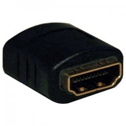Tripp Lite - P164-000 - Tripp Lite HDMI Compact Gender Changer Adapter Coupler HDMI F/F - 1 x HDMI Female Digital Audio/Video - 1 x HDMI Female Digital Audio/Video - Black
