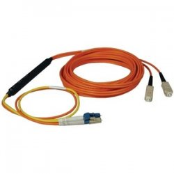 Tripp Lite - N424-05M - Tripp Lite 5M Fiber Optic Mode Conditioning Patch Cable SC/LC 16' 16ft 5 Meter - LC Male - SC Male - 16.4ft