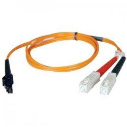 Tripp Lite - N310-15M - Tripp Lite 15M Duplex Multimode 62.5/125 Fiber Optic Patch Cable MTRJ/SC 50' 50ft 15 Meter - MT-RJ Male - SC Male - 49.21ft - Orange
