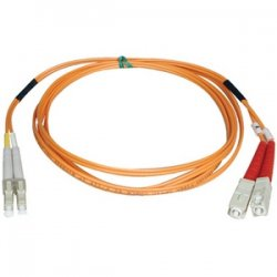 Tripp Lite - N316-05M - Tripp Lite 5M Duplex Multimode 62.5/125 Fiber Optic Patch Cable LC/SC 16' 16ft 5 Meter - (LC/SC), 5M (16-ft.)""