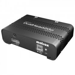 Matrox - D2G-DP2D-IF - Matrox DualHead2Go Digital SE - Functions: MultiView - DisplayPort - 3840 x 1200 - DVI - USB - External