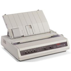 Okidata - 62422302 - Oki MICROLINE 186 Dot Matrix Printer - 375 cps Mono - 240 x 216 dpi - USB, Parallel