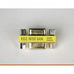 Tripp Lite - P150-000 - Tripp Lite Compact/Slimline DB9 Coupler Gender Changer (F/F) - 1 x DB-9 Female - 1 x DB-9 Female