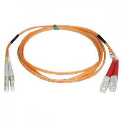 Tripp Lite - N316-20M - Tripp Lite 20M Duplex Multimode 62.5/125 Fiber Optic Patch Cable LC/SC 65' 65ft 20 Meter - SC Male - LC Male - 65.62ft - Orange