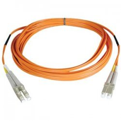 Tripp Lite - N520-100M - Tripp Lite 100M Duplex Multimode 50/125 Fiber Optic Patch Cable LC/LC 328' 328ft 100 Meter - LC Male - LC Male - 328.08ft - Orange