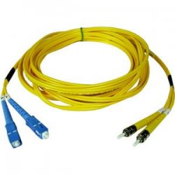 Tripp Lite - N354-02M - Tripp Lite 2M Duplex Singlemode 8.3/125 Fiber Optic Patch Cable SC/ST 6' 6ft 2 Meter - SC Male - ST Male - 6.56ft - Yellow