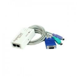 Tripp Lite - 0SU51012 - Tripp Lite Minicom PS/2 Remote Unit for Phantom Specter II KVM Switch TAA GSA - 1 x 1 - 1 x mini-DIN (PS/2) Keyboard, 1 x mini-DIN (PS/2) Mouse, 1 x HD-15 Video