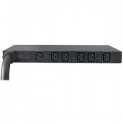 APC / Schneider Electric - AP7526 - APC Basic Rack 6-Outlets 22kW PDU - 6 x IEC 60320 C19 - 22kW - 1U Rack-mountable