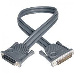 Tripp Lite - P772-015 - Tripp Lite 15ft KVM Switch Daisychain Cable for B020 / B022 Series KVMs - DB-25 Male - DB-25 Female - 15ft
