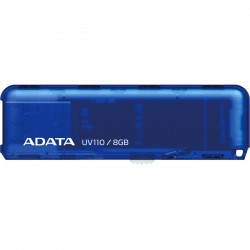 A-DATA Technology - AUV110-8G-RBL - Adata 8GB DashDrive UV110 USB 2.0 Flash Drive - 8 GB - USB 2.0 - Blue