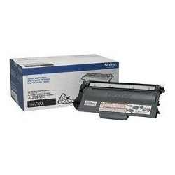 Brother International - TN720 - Brother TN720 - Black - original - toner cartridge - for Brother DCP-8110, 8150, 8155, HL-5440, 5450, 5470, 6180, MFC-8510, 8710, 8910, 8950